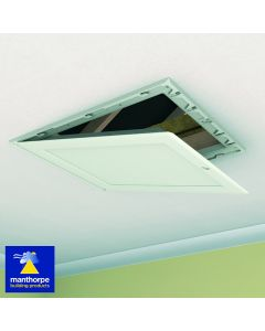 Manthorpe Loft Door Drop Down GL250-035-PU