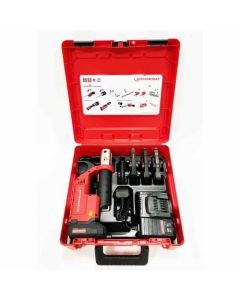 Rothenberger ROMAX Compact TT 15-22-28mm Mannesman Set with FREE 18v LED Inspection Lamp - 100002124
