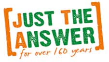 Just The Answer - for over 150 years